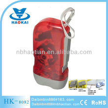gift item led dynamo flashlight