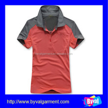 Plain dyed polo shirt printed custom your brand polo t shirt 100% polyester wholesale china manufacturer