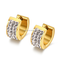 Hot indian jhumka hoop earring gold earring jewelry china wholesale