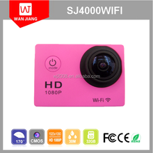 Original 12MP Photo Full HD 1080P Action Camera Sports DV Helmet Camera SJ4000wifi