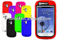 silicone full body mobile phone cover case for Samsung Galaxy s3 mini i8190