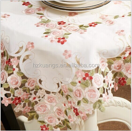 Hand Embroidery Designs TableclothsTable ClothTable