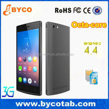 Factory promotion products 5.0'' multi touch 3G 8 Core mobile phone in taiwan