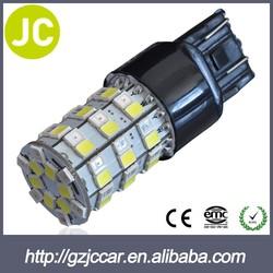 smd led car light auto led lamp 3157 ba15s 2835 P27/7W Led Wedge Socket Turn Signal Bulb