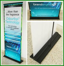 cheap pop up display stand banner