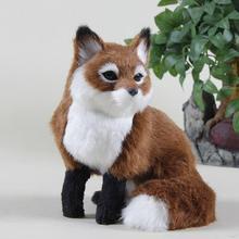 Bottom price new coming plush toy fox skin