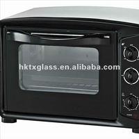 Tempered oven door glass