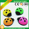 3d colorful cartoon animal ladybird shaped insects eraser