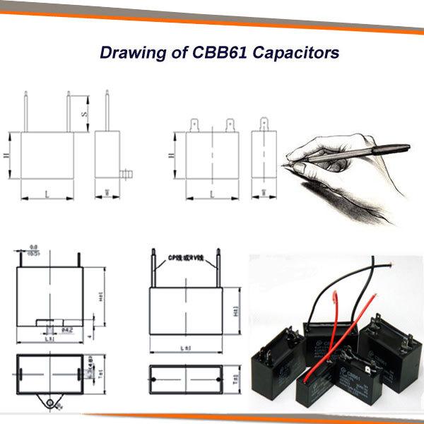 Ceiling Fan Wiring Diagram Capacitor Cbb61 450vac 3uf - Buy Ceiling ...