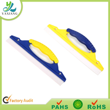 rubber and silicone squeegee with short hand water clean squeegee tools for glass bathroom and car window