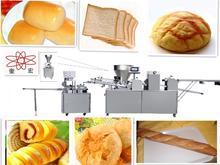 bread bun production line /long bread making machine