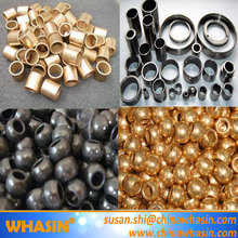 Powder Metallurgy (PM) FU Oil Sintered Bronze Bushing Spherical Fan Motor Bushing Oil Sintered Iron Bushing