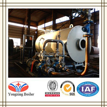 Horizontal and Crude Oil Heating Gas Fired Thermal Oil Boiler