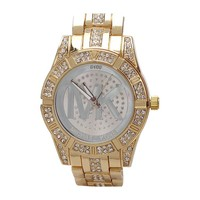 2015 hot gold steel crystal MK watches