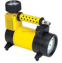 Metal car air compressor DC 12V air compressor,air pump tire inflator,air compressor paint