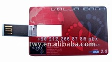 Super thin credit card usb,bank usb 2.0 card reader
