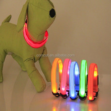 2015 new hot selling . 6 color for you choose .wholesale Dog Products Led Dog collar with Insulation sheet in stock!