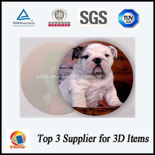 wholesale 3d lenticular coaster elegant cup mat table decoration manufacturer