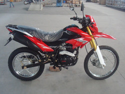 125cc 150cc 200cc 250cc hot selling inverted front shock absorber brazil 2010 model dirt bike sport motorcycle