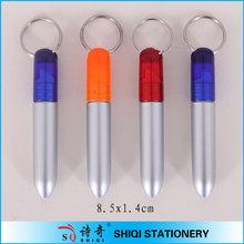 Promotion plastic mini key ring pen(XH4266)