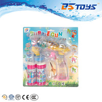 Wholesale promotional space bird plastic bubble water blower toy with light and music