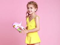 Baby Summer Child Swimsuit model One Shoulder Sexy Young Girls Seaside Swimsuit/Bathing Suit/Swimming Little Girls Swimsuits