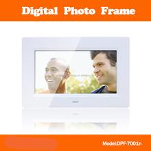 7 inch digital panel digital photo frame/bulk digital picture frame