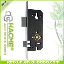 Single bolt single security 85 mortise lock body