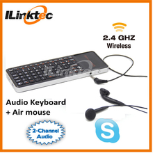 Innovation design 2.4G Air Mouse Keyboard with phone for Android TV Box Keyboard remote