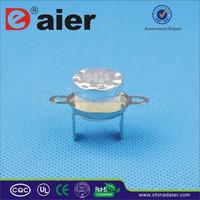 KSD Series Temperature Controller 10/15A 250VAC Ceramical Meterial KSD301-UR2 50 ~ 180 Degree With Big Collar