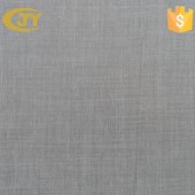 spun polyester voile grey fabric
