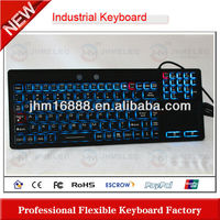 industrial tablet pc case with keyboard and touchpad