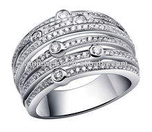 Silver Large Rings women factory directly