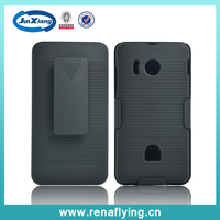 Factory price hign quality PC hard hybrid shell holster combo phone case for huawei y300
