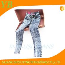 Sra jeans de moda