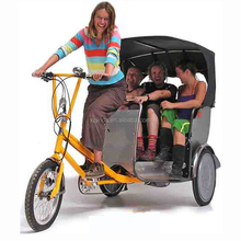 3-4 Adults rickshaw good sale in india