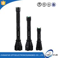 CE Certfication high light range led torch flashlight 200 lumen 18650 or aaa battery