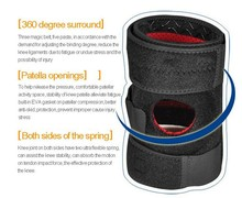 Custom Sports Leg Knee Support Brace Wrap Protector Knee Sleeve