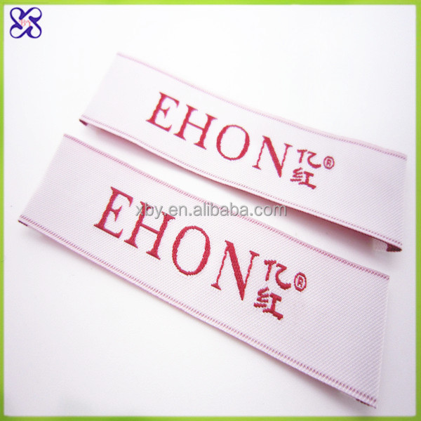 custom garment woven label/neck label