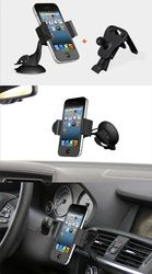 Wholesale Adjustable Universal Car Phone Holder Car With Car Fm Transmitter Bluetooth Usb Charger