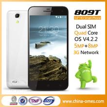 Low Price Unlocked 4GB ROM Quad Core Super Slim Android Smart Phone