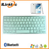 Cheapest slim bluetooth wireless chocolate keyboard, universal bluetooth keyboard for tablets and smartphones