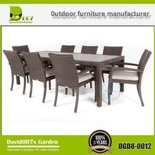 outdoor furniture Teak aluminium rattan wicker restaurant