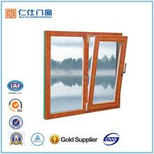 Renshi Brand elegant aluminum tilt out window designs for home
