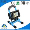 2015 hot sales two charger for outdoor led flood light rechargeable working light