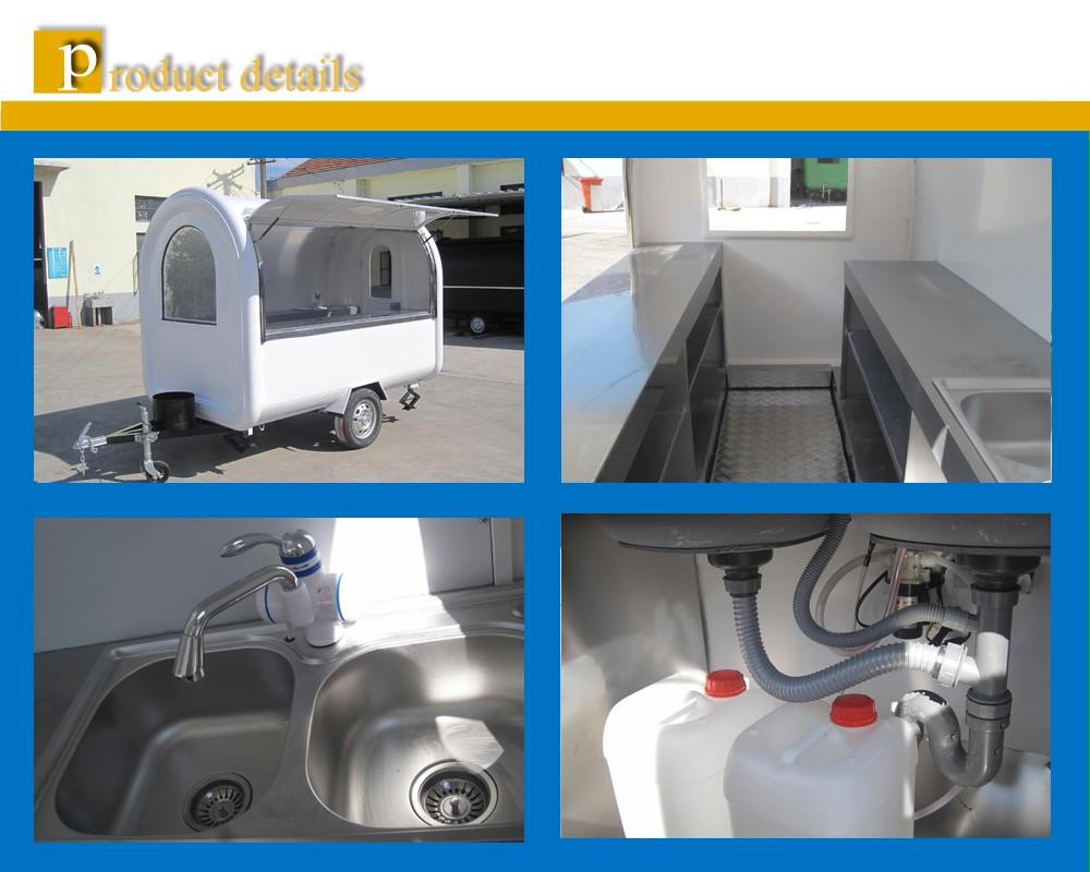 Wanda camions de restauration rapide mobile chariots de nourriture restaurant mobile de voiture - Casse auto robinet ...