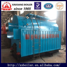 Low Pressure 0.7-1.6Mpa Coconut Shell Solid Waste fired Automatic Single Drum Steam Boiler price