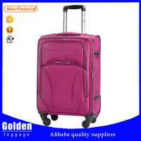1680D four wheels Soft Luggages /High quality Spinner luggages/New Luggage Suitcase