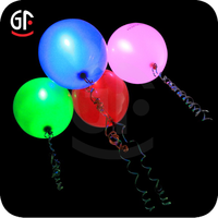 Halloween Party Decoration Latex Free Balloons Led Light Up