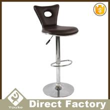 French style luxury bar stool gas lift